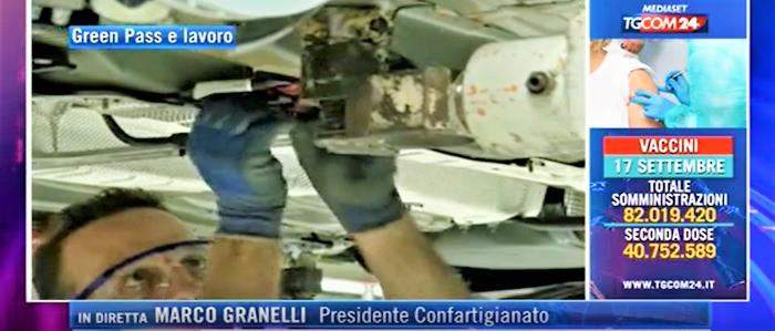 """MEDIA – Granelli a TgCom24: """"Il green pass apre la strada alla ripresa"""""""